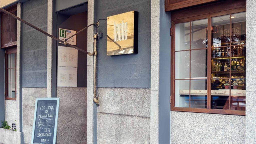 HACHE restaurante madrid